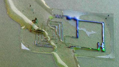 Bioresorbable electronics